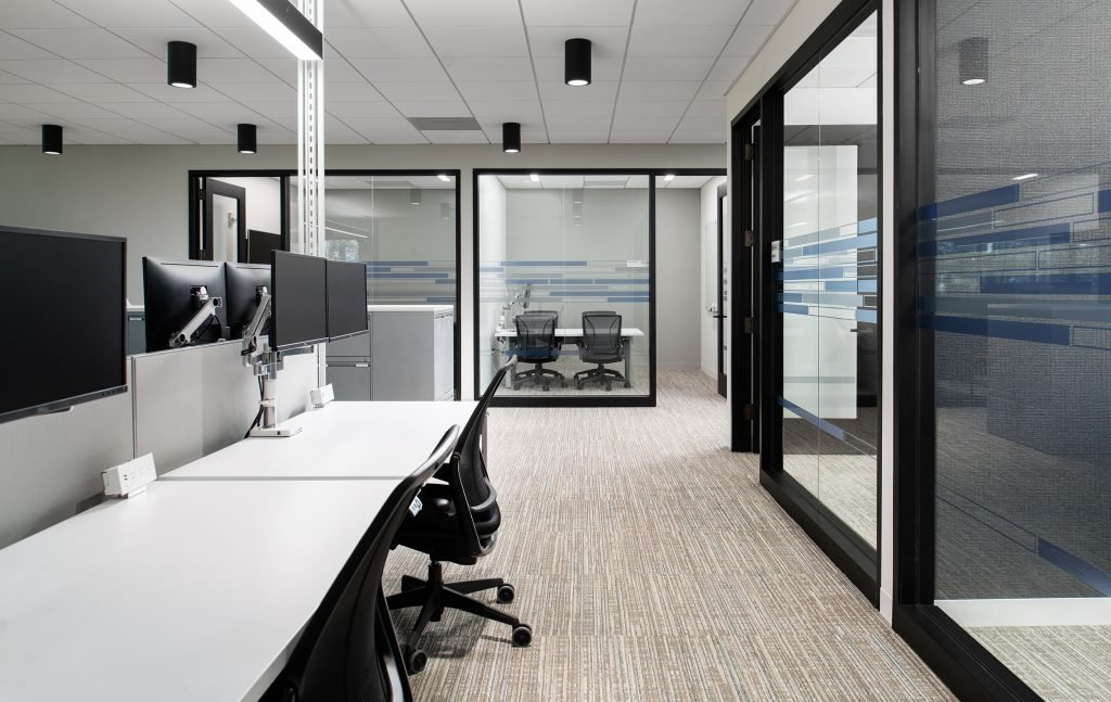 Verizon-Alpharetta---Phase-Two---Office-Seating-to-Huddle-Rooms